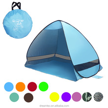 Customized automatic pop up camping tent beach tent shade camping