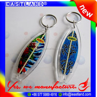 Custom Surfboard Keyring Key Chain for Souvenir
