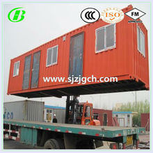 Living 20ft folding container house floor plans