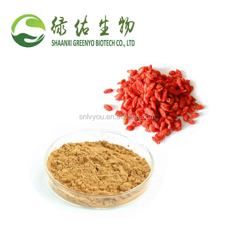 Factory supply Natural wolfberry extract/gouji extract/Lycium barbarum extract