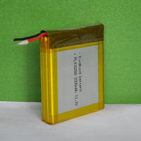 PL416268 11.1V 2000mAh Rechargeable Li-polymer Battery pack