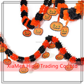 Halloween Pumpkin Paper Chain Garland Party Home Bar Decorations Favor Haunted