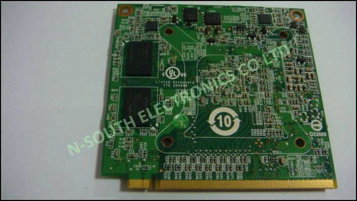 NEW Laptop PCI video card for Nvidia GeForce 8400M GS DDR2 256MB MXM II G86-603-A2
