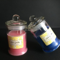 2015wholesale recylable luxury solar candle light fiber optic