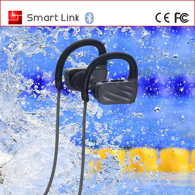New design IPX7 Swimming headset bluetooth MP3 with built in Flash