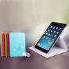 2014 New Arrival 360 Rotate Leather Case Crystal For Ipad Air Case