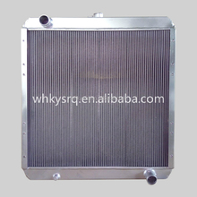 E320B excavator engine parts hydraulic radiator