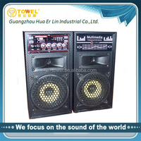 Fashional Hot Selling 2.0 Speaker 2.0 home theater speaker with usb sd card reader