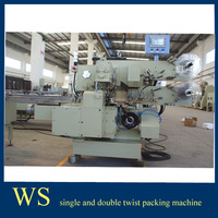 Hemispherical Chocoalte Single Twist Wrapping Machine