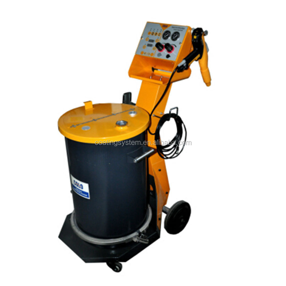 COLO-800D Manual Epoxy Powder Coating Spray Gun with Hopper