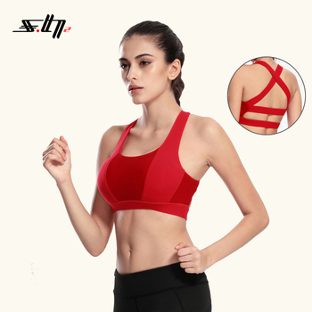 High quality custom gym fitness women yoga wear sexy sport bra