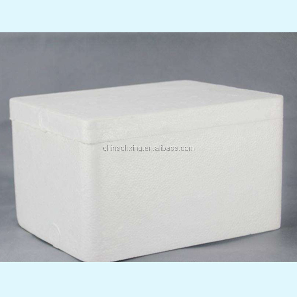 Factory price eps foam fish box for frozen meat transportation
