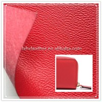 hard lattice surface bag PU leather for bags making DH075