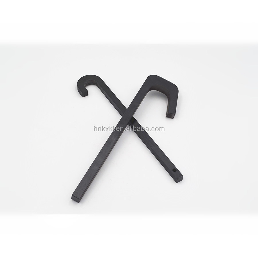 High Wear Resistance 99% Silicon Nitride ceramic Hook