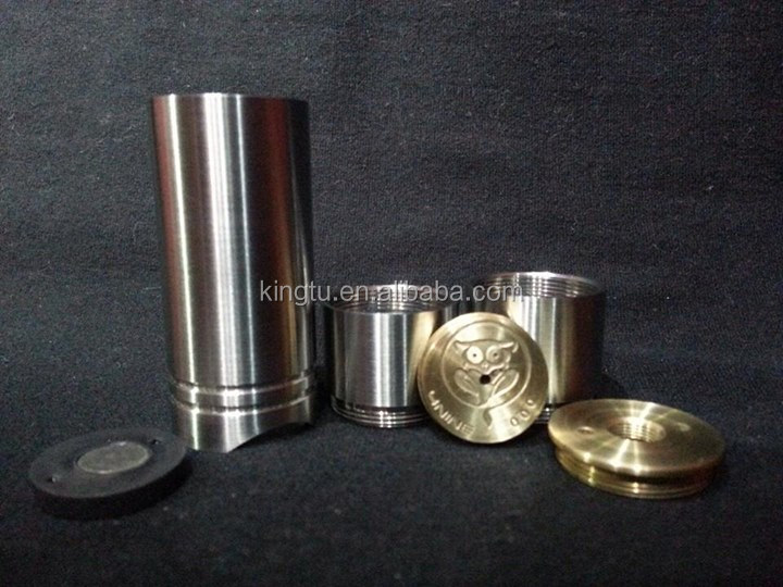 Alibaba express kingtu mechanical mod 4nine mod red copper stingray mod