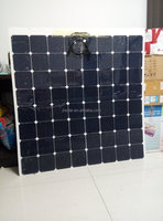 Factory direct sale 210 w18v super clear flexible solar panels Can be customized
