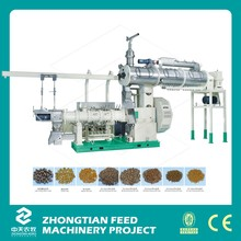 aquaticfeed extrusion machine/floating fish feedmill/pet food pellet extruder