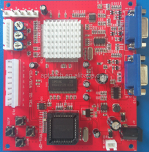 CGA/EGA/YUV TO VGA converter board for POG game machine