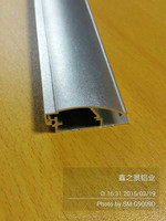 Manufacturing 30mm profile aluminum snap frame poster holder