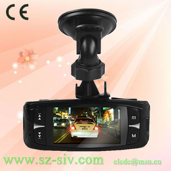 New Arrival Ambarella A2S60 OmniVision 2710 full 1080P HD hd external portable navigator h3000 car dvr recorder camera