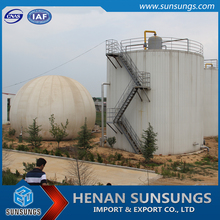 Biogas plant Anti-corrosion Methane gas anaerobic reactor tank