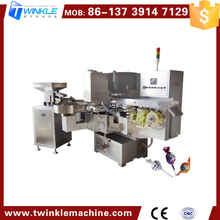 TKH40 AUTOMATIC LOLLIPOP CANDY WRAPPING MACHINE