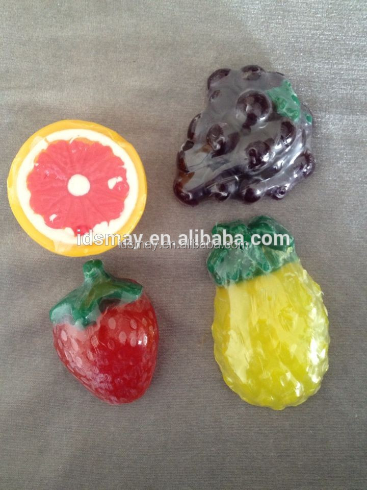 factory Coconut-Oil cheap oem fair fruit shape soap handmade