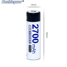 Shenzhen full high capacity AA 1.2v 2700mah Ni-MH rechargeable battery