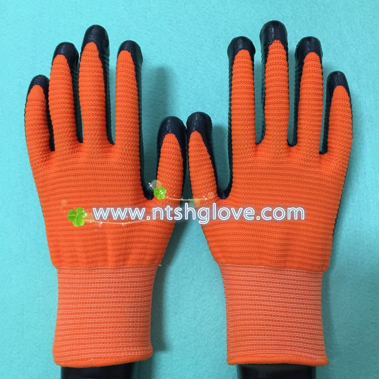 Top quality anti cut work glove nitrile coated