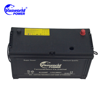 Wholesale Heavy Duty Batteries mf Truck Battery N120 12v 120ah