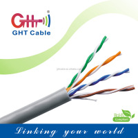 Factory best price cable utp cat 5e cable 61PVC Jacket CCA -A cat5e cable utp 85