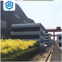 alibaba galvanized steel pipe / steel tube api 5l grade x42 carbon steel pipe advance building material
