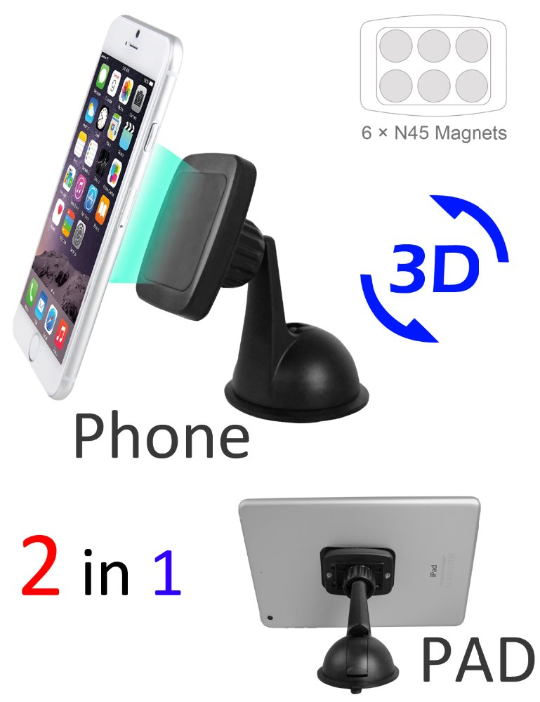 2016 Tablet Stand For iPhone Car Mount,100% original ABS material phone holder for car