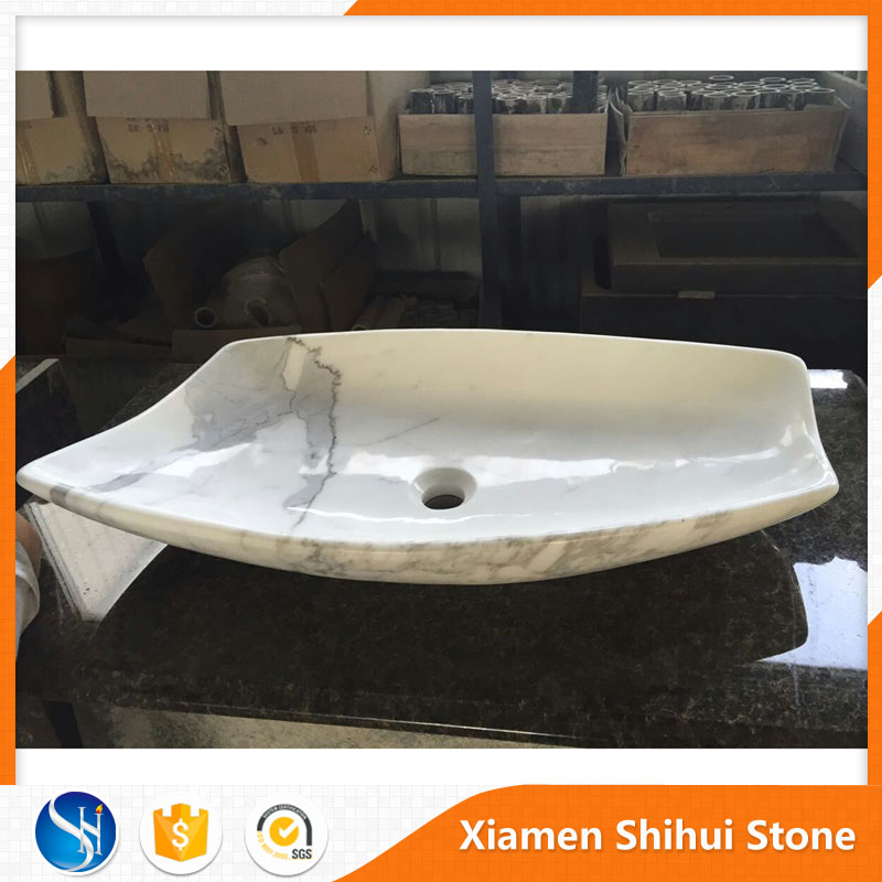 Low Price Natural Stone Bath Basin in Marble