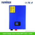 2017 wholesale 5000W hybrid solar power pump inverter