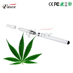 new products dry herb vaporizer vape pen 1ml/.5ml cbd oil with factory price