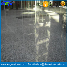 Natural Outdoor Polished Grey Granite G603 Slabs For Sale