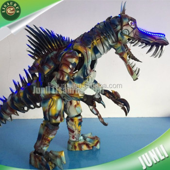 Lisaurus-CH1066 Cartoon characters mascot EVA armor suits dinosaur costume with led lights