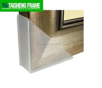 TSF42 Translucent Frame Protectors 40mm picture frame clear plastic outside corner protectors