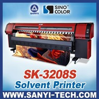 China Best Large Format Printer, 3.2M with Seiko SPT510 Printhead, SinoColor SK-3208S