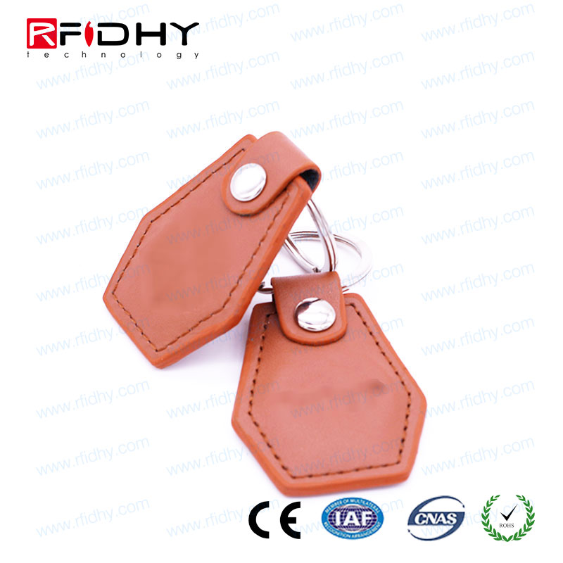 13.56MHZ rfid transparent key fob for key lock
