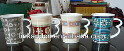 special design handle ceramic mug very attractive and intresting