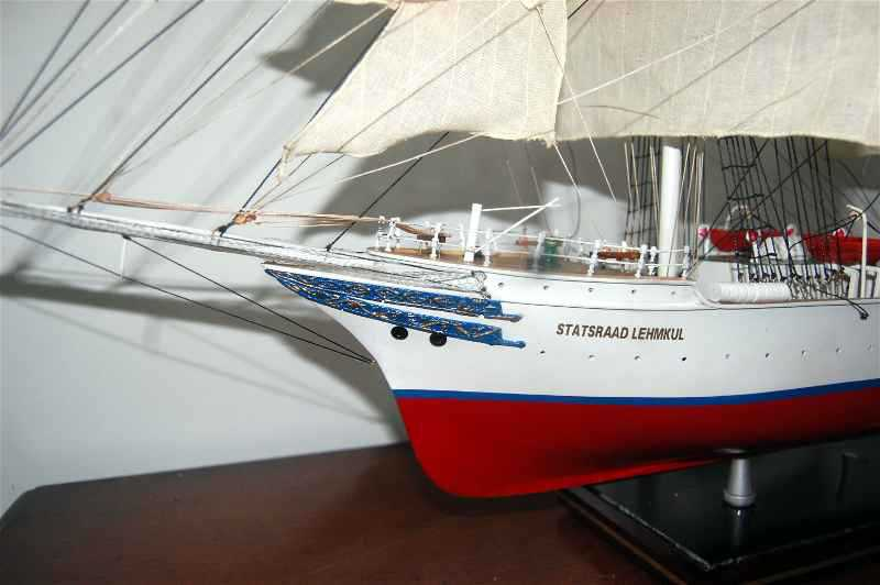 Tall Ship model Straat Lehmkul