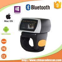 R2 finger ring bluetooth 2d barcode scanner