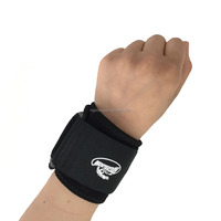 Sports Neoprene Elastic Support/ Wrist Wrap/Wrist Brace in Black