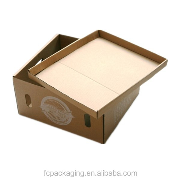 Folding Sport Shoes Box Perforated Boot Box with Lid
