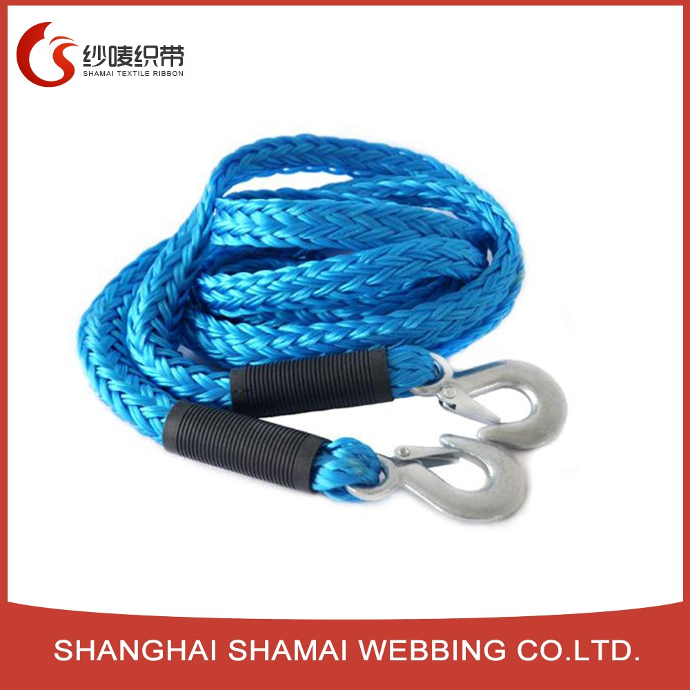 UHMWPE fishing rope mooring rope uhmwpe winch towing rope