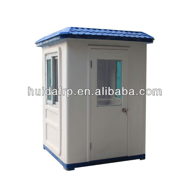 china low cost customised prefabricated security guard house factory