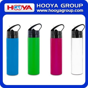 600ML Silicone Foldable Sports Outdoors Water Bottle
