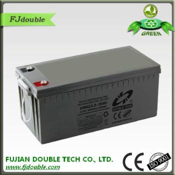 china factory best price sealed maintenance free rechargeable lead acid battery 12v 200ah